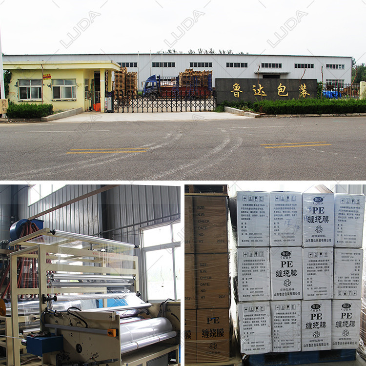Black Pallet Wrapper Clear Pallet Film