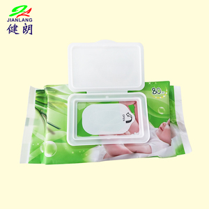 Wholesale Antibacterial Flushable Organic Disinfectant Cleaning Baby Wet Wipes