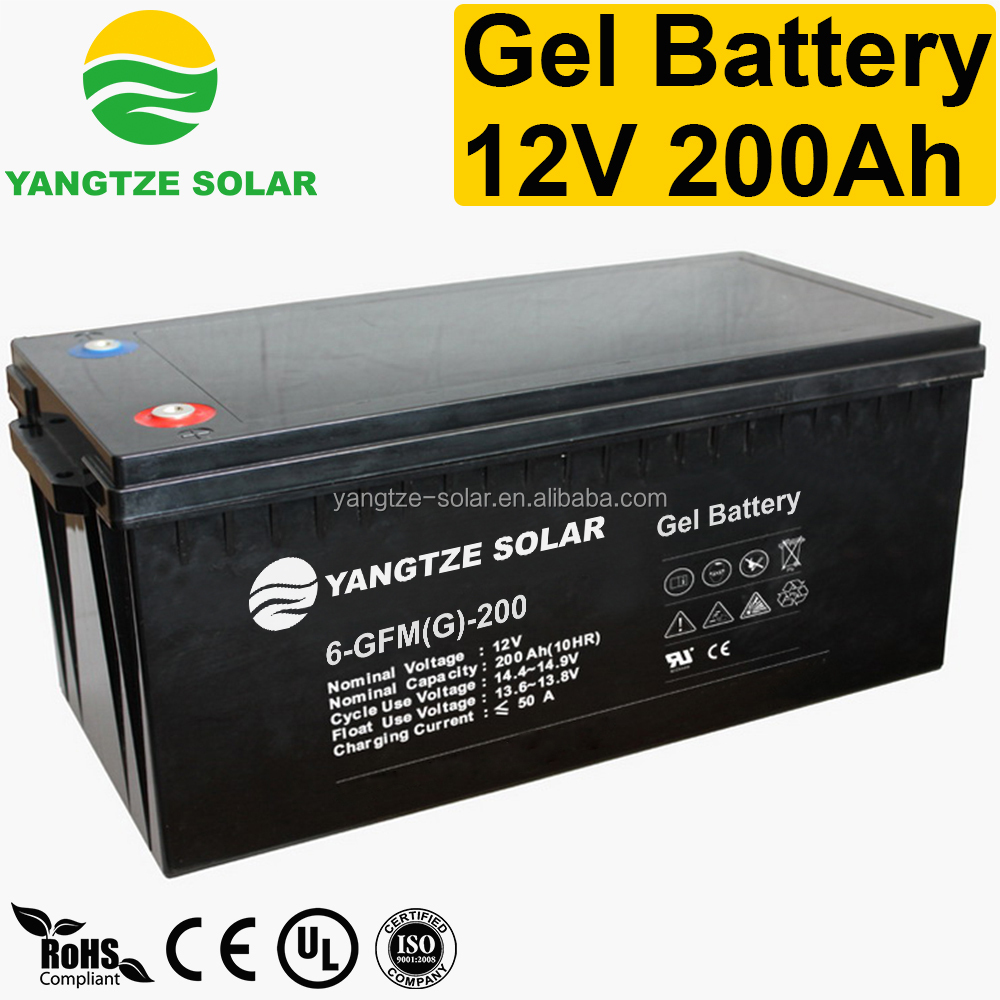 First grade quality volta batteries 200 amp for ups