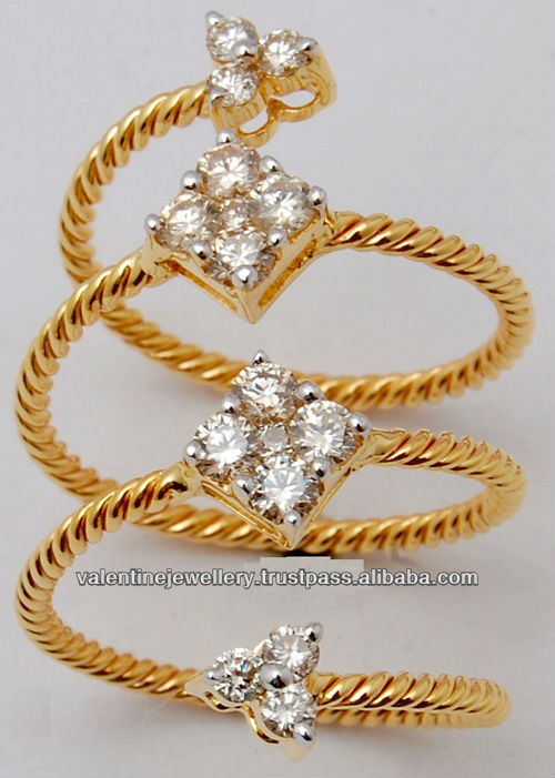 India Designer Diamond Finger Rings India Designer Diamond Finger