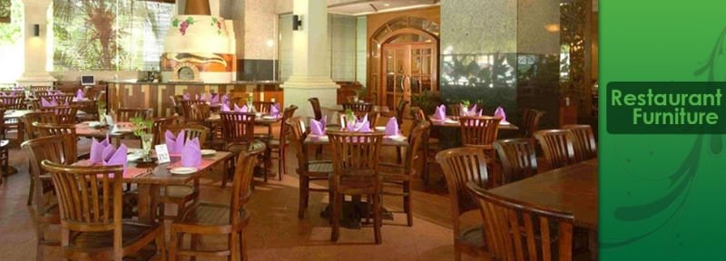 Teak furniture for Restaurants