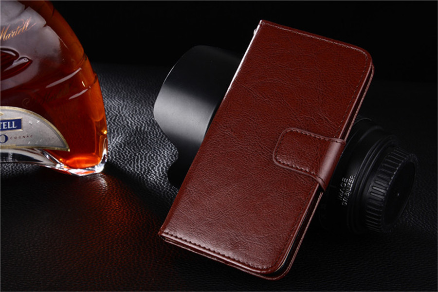 For Xiaomi Redmi 3 Stand Wallet Cover Hit Color Leather Card Slot Flip Mobile Phone Case