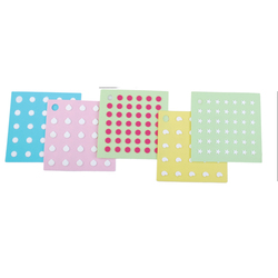 Silicone square trivet with dot design & home & kitchen