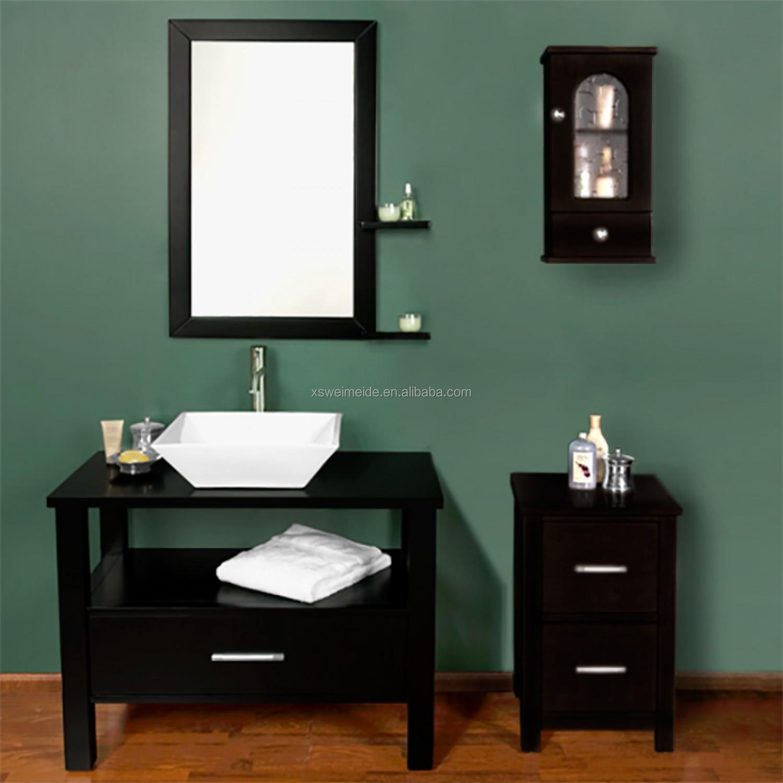 buckingham 36 badkamer 36 inch vanity ensemble met zwart graniet