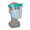 high quality double anti-fog splash shield / disposable clear face shield