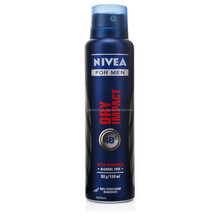 Nivea men Dry impact spray 150ml wholesale nivea