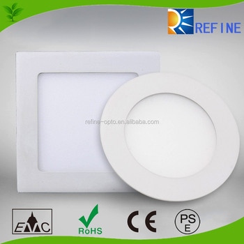dimmable led ceiling light 6w 12w 18w 24w , ultra slim dimmable downlight, round and square led panel light dimmable