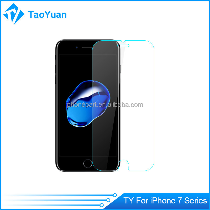 2016 New Arrival Mobile Phone Accessories for iPhone 7 Screen Protector Tempered Glass in Stock