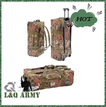 MILITARY TRAVEL BAG with wheels