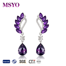 MSYO brand Europe and America fashion earrings gold earrings designs with price earrings women