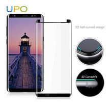 [UPO] 2018 Case Friendly note 8 3d curved tempered glass screen protector for samsung galaxy note 8