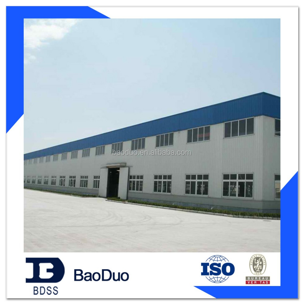 steel structure frame warehouse building