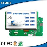 embedded solution 10.1 inch lcd screen +Touch panel +mother board with controller /CPU and RS232 interface