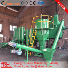 low cost coconut shell activated carbon making machine with CE ISO