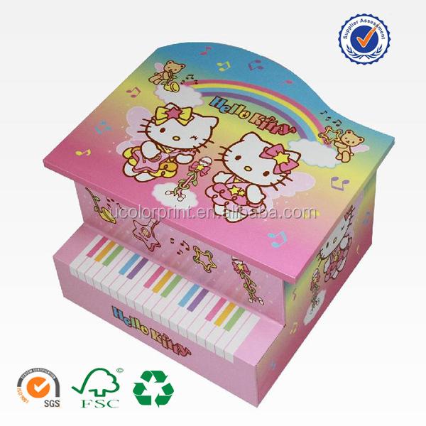 Customized piano finish jewelry box