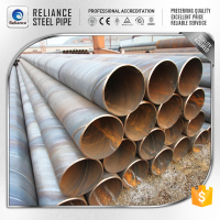CONCRETE LINED STEEL PILING TUBE/API 5L CARBON STEEL PIPES