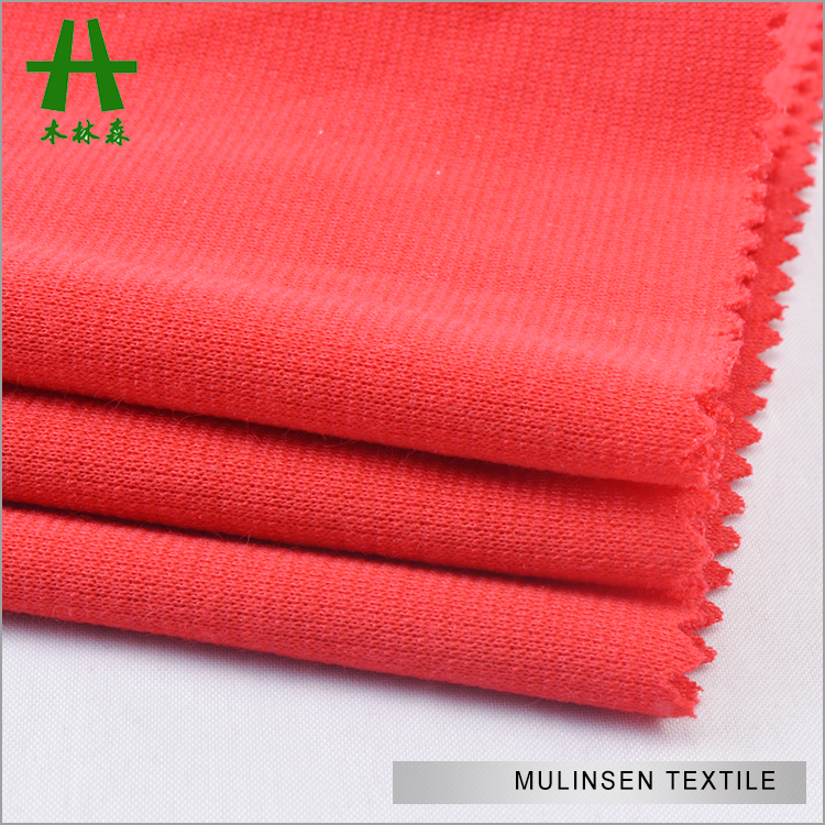 Hot Sale Mulinsen Textile Plain Dyed Ponte De Roma Double Jersey Knit Stretch Poly Roma Fabric for Women Dress