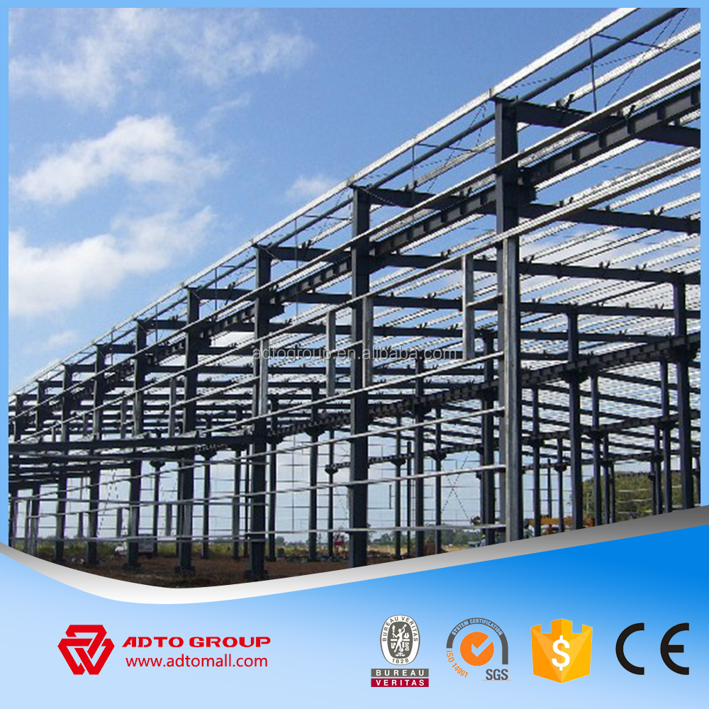 Light steel framework fabrication prefabricated steel structure building construction design engineering company