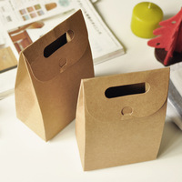 white cardboard material brown kraft paper bag jakarta factory wholesales