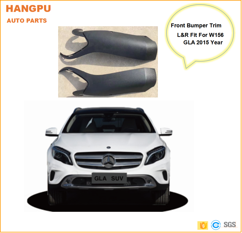 2015' Plastic Front bumper trime L & <strong>R</strong> for Mercedes GLA Class W156 A1568851125/A1568851225