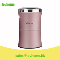 12L large capacity stainless steel rice bin storage