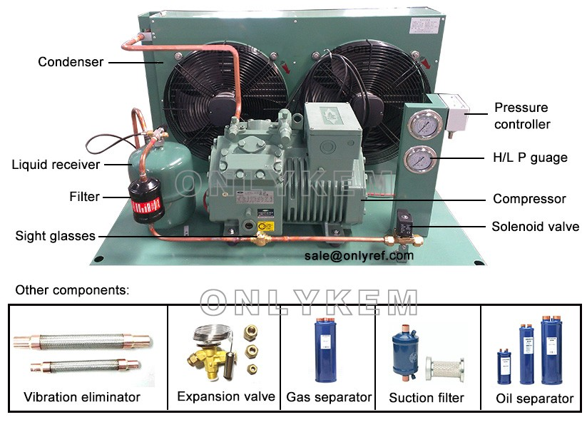 Bitzer Pressor Mini Refrigeration Unit Condensing Mainponents: Bitzer Pressor Wiring Diagram At Goccuoi.net