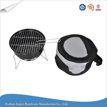 Mini Balcony Portable Barbecue Grill Outdoor Charcoal BBQ with Cooler Bag