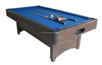 7ft MDF pool table with ball return system KBL-08A1