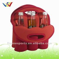 High Quality Six Pack Neoprene Wine Bag