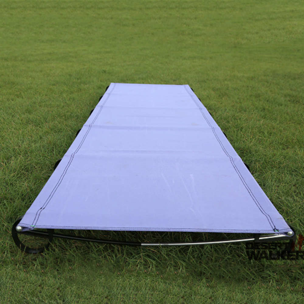 New Outdoor Ultralight Travel Portable Aluminium alloy Folding Camping Bed
