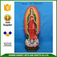 polyresin Our Lady of Guadalupe wholesale christian art