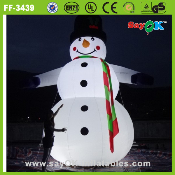 large adult inflatable christmas snowman for outdoor christmas decorations