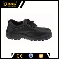 low ankle safety boots/work boots buffalo leather safety shoes man safety shoes made in china