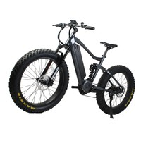 2019 newest design for America market high power fat bike 1000W with rock shox fork full suspension mountain bike