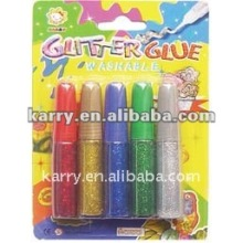 shinning glitter glue painting set (kids art)