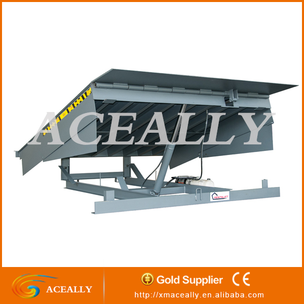 ACEALLY fixed loading ramp for traliers container hydraulic dock leveler