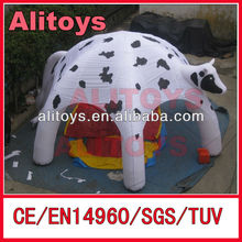 Animal themes of infltable dome tent
