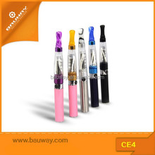 2015 China best CE4 electronic cigarette wholesale, ego blister pack starter kit ce4 ce5 clear atomizer