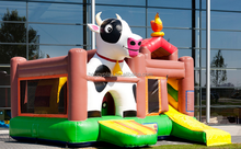 kids inflatable castle CE cow jumping castle for rental business