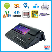 Android POS system software with barcode reader and smart card IC card reader