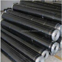 High polymer self adhesive waterproofing material, waterproof membrane, asphalt
