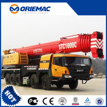 SANY STC1250 125 ton mobile crane 1000 trucks for sale
