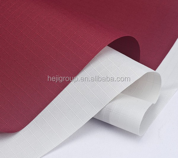 100% polyester ripstop fabric for horse rugs pu coated fabric