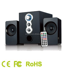 airwave best 2.1ch subwoofer speakers with home theater sound system with SD/FM function with CE/RoHS Certificate