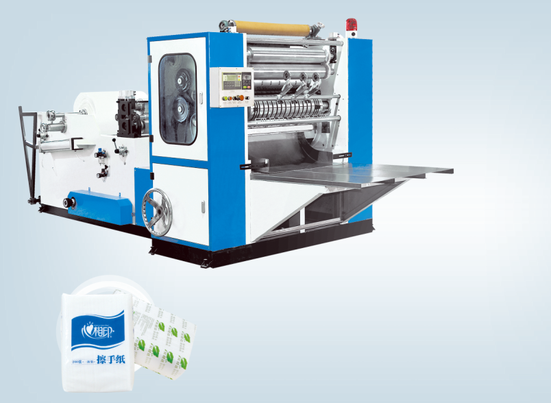 Full Automatic N-folding/V-Folding Hand Towel Machine