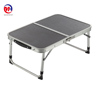 Two Folded Table Adjustable Portable Aluminum Table for Camping, Beach, Backyards, Party and Picnic