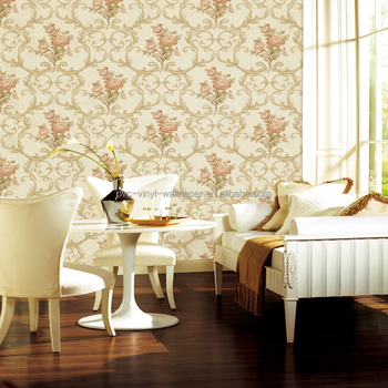 deep emboss vinyl flower living room wallpaper for bedroom walls