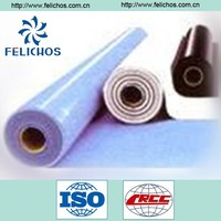the PVC waterproofing plastic membrane