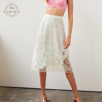 Gorde  Lace Casual Midi Skirt For Women