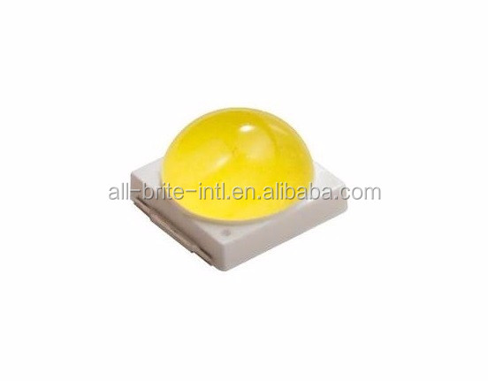 high efficiency smd led chip 3030 3V 2W Dome Warm White LED